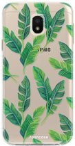 Samsung Galaxy J3 2017 - TPU Soft Case - Back Cover telefoonhoesje - Banana leaves
