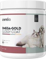 Animigo Glanzende Vacht Brokjes voor Honden en Katten - 90 brokjes