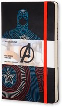 Moleskine notitieboek The Avengers Captain America - Large - Hard cover - Gelinieerd