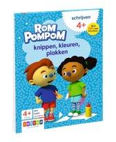 Rompompom - Knippen, kleuren, plakken