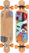Riviera Word to the WISE Longboard compleet