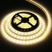 Epoxy waterdichte Rope Light  lengte: 5m  Warm wit licht 5050 SMD LED  60 LED/m
