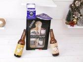Italiaans kerstbox-spaghetti met bier en kaartspel (6 stuks)