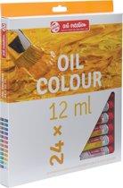 ArtCreation olieverfset  met 24 tubes 12ml
