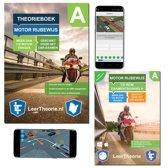 Motor Theorieboek - Theorie Leren Motor Rijbewijs A + CD-ROM incl. Smartphone Examens 2019