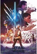 Poster-Star Wars VIII-8-The Last Jedi-61x91.5cm.