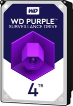 Western Digital Purple 4000GB SATA III interne harde schijf
