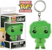 Funko Pop! Fallout Pocket Pop Keychain Vault Boy (Glow In The Dark) - Verzamelfiguur