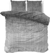 Sleeptime Wood Fresh 2 - Dekbedovertrekset - Tweepersoons - 200x200/220 + 2 kussenslopen 60x70 - Grijs
