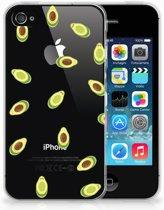 iPhone 4 | 4s  TPU-siliconen Hoesje Avocado