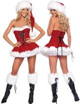 Kerstjurkje Strapless Miss Holiday - Tibri