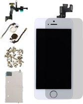 Voor Apple iPhone 5S - AAA+ Voorgemonteerd LCD scherm Wit & Screen Guard