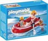 Playmobil Toeristen met Rubberboot - 5439