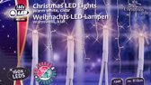 Christmas gifts Kerstverlichting ijspegels wit 160 LED´s