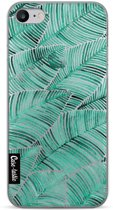 Casetastic Softcover Apple iPhone 7 / 8 - Tropical Leaves Turquoise
