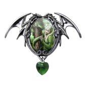 Anne Stokes Cameo Pendant Kindred Spirits