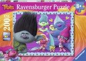 Ravensburger puzzel Trolls - Legpuzzel - 200 stukjes