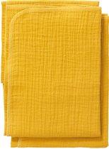 Cottonbaby Multidoek soft S 60x70 per2 okergeel