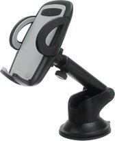 Universele Telefoon Houder voor in de Auto met zuignap en verstelbare arm – 360 graden draaibaar