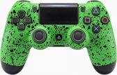 3D Splashing Groen - Custom PlayStation PS4 Wireless Dualshock 4 V2 Controller
