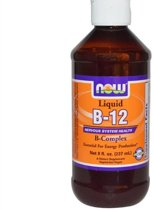 Vloeibare vitamine B12 B-Complex (237 ml) - Now Foods