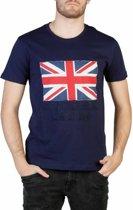 Heren T-shirt van U.S. Polo - dk.blauw