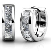 Yolora swarovski elements oorbellen - 10 kristallen