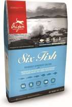 Orijen Whole Prey Six Fish Dog Sardines&Makreel - Hondenvoer - 11.4 kg