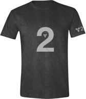 Destiny 2 - Logo Men T-Shirt - Anthracite Melange - XL