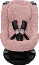 Briljant Baby Autostoelhoes AXXIS - grey pink - spots