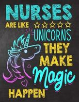 Nurses are like Unicorns They make Magic Happen