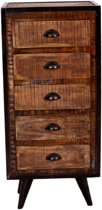 YourPlace Kast Bruin 110cm Hout