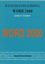 Basishandleiding Word 2000