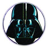 Star Wars™ Clicks - Darth Vader mask white