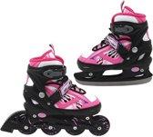 Inline Skate/Schaats Roze 39-42 Abec 7