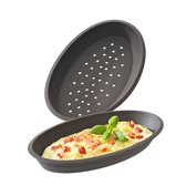 Lurch - Flexiform - Set van 2 pizzavormen - Silicone - 24.5x14.5x3cm