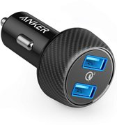 Anker PowerDrive Speed Autolader Zwart