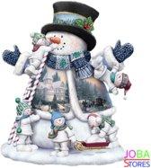 "Diamond Painting ""JobaStores®"" Sneeuwpop - volledig - 30x40cm"