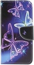 Samsung Galaxy A50 Hoesje - Book Case - Vlinder