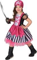 Roze piraten pakje voor meisjes - Verkleedkleding - 128/134