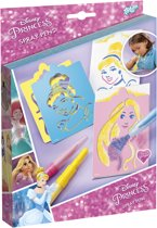 Disney Princess Spray Pens - blaaspenschildertijtjes maken