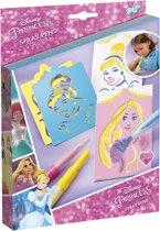 Disney Princess Spray Pens - Schilderijtjes maken met blaaspennen