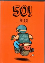50!  ...Relax!