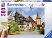 Ravensburger puzzel Gengenbach in het Kinzigtal - legpuzzel - 500 stukjes