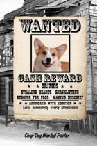 Corgi Dog Wanted Poster