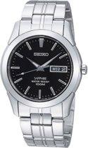 Seiko SGG715P1 horloge heren - zilver - edelstaal