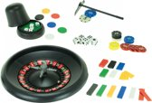 Toi-toys Rouletteset Groen/zwart 18-delig 15 Cm