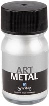 ES Art Metal Verf, 30 ml, zilver