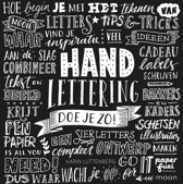 1x Boek Handlettering Doe je Zo! + 1 x  Handlettering doe je zo! Oefenboek +  2 stuks Tombow Fodenosuke Brush Pennen H/S