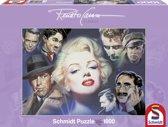 Schmidt puzzel Marilyn Monroe en vrienden 1000 stukjes.